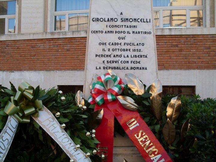 Commemorazione Simoncelli