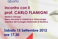 Conferenza con Flamigni 06\\09\\2012