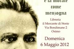 Conferenza su Nietzsche 16\\04\\2012