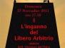 Conferenza sul libero arbitrio 08\\11\\2011