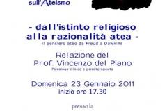 Incontri filosofici Osimo 04\\01\\2011