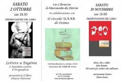 Presentazione libri Petroni e Svarca 02\\10\\2010