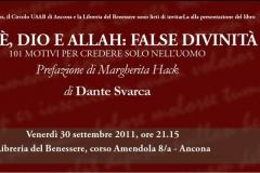 Presentazione libro di Dante Svarca 18\\09\\2011